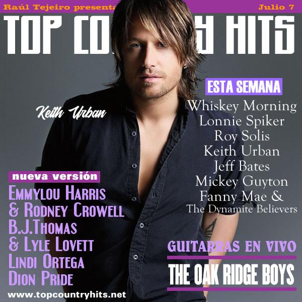 Top Country Hits - Programación Semanal